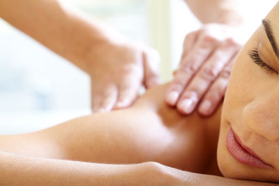 deep tissue massage stress relief
